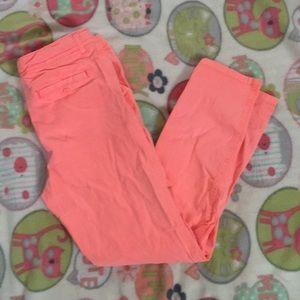 Girls cat&jack peach color pants